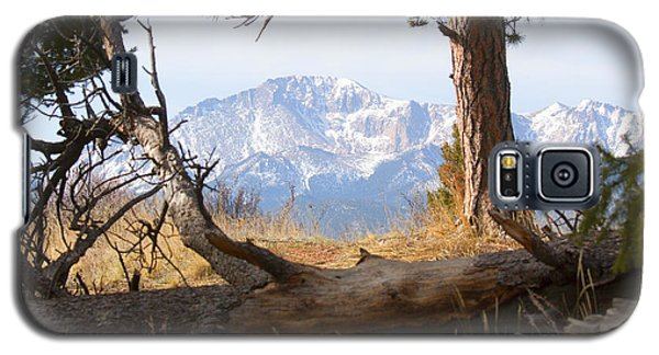 Pikes Peak And Trail To Bald Mountain Galaxy S5 Case