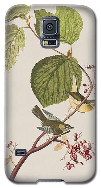 Pine Swamp Warbler Galaxy S5 Case by John James Audubon