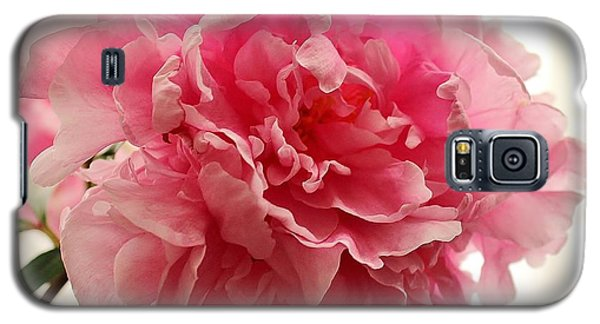 Pink Peony 2 Galaxy S5 Case by Katy Mei