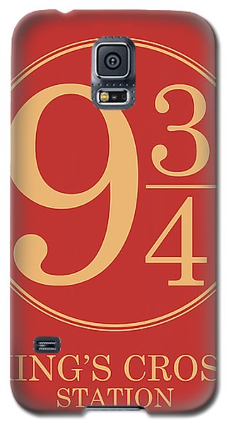 Platform Nine And Three Quarters - Harry Potter Wall Art Galaxy S5 Case