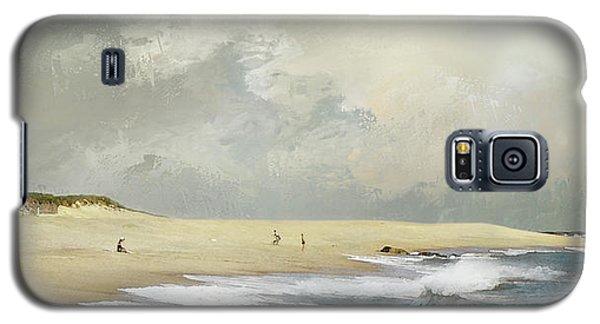 Plum Island Sky Galaxy S5 Case