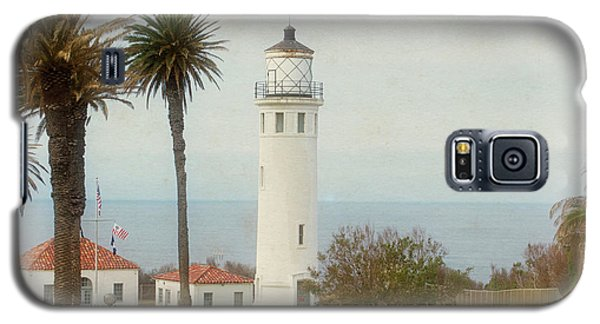 Point Vincente Lighthouse, California In Retro Style Galaxy S5 Case