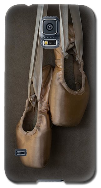Galaxy S5 Case featuring the photograph Sacred Pointe Shoes by Laura Fasulo
