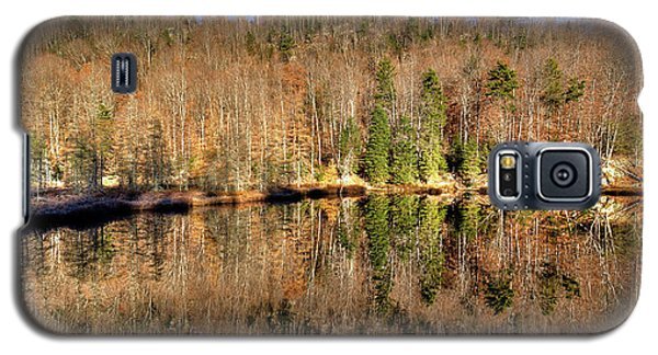 Galaxy S5 Case featuring the photograph Pond Reflections by David Patterson