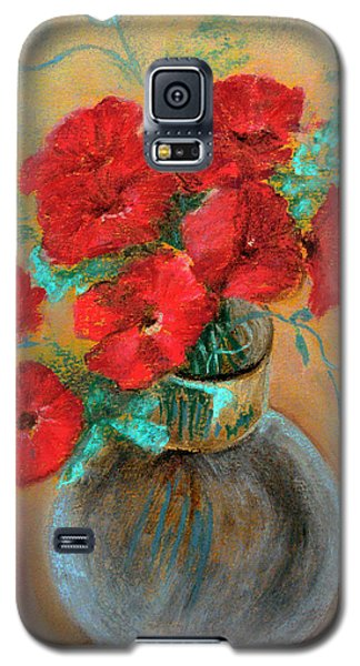 Poppies  Galaxy S5 Case by Jasna Dragun