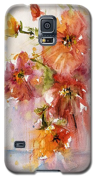 Poppies Galaxy S5 Case by Judith Levins