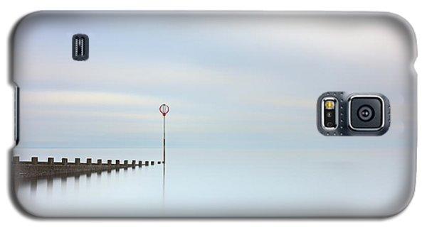 Galaxy S5 Case featuring the photograph Portobello Seascape by Grant Glendinning