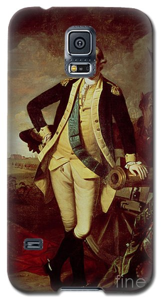 Portrait Of George Washington Galaxy S5 Case by Charles Willson Peale