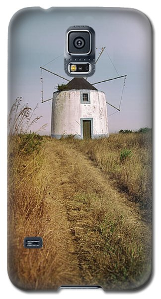 Galaxy S5 Case featuring the photograph Portuguese Windmill by Carlos Caetano