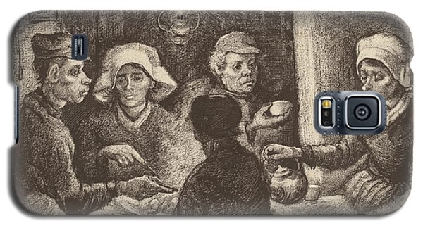Potato Eaters, 1885 Galaxy S5 Case by Vincent Van Gogh