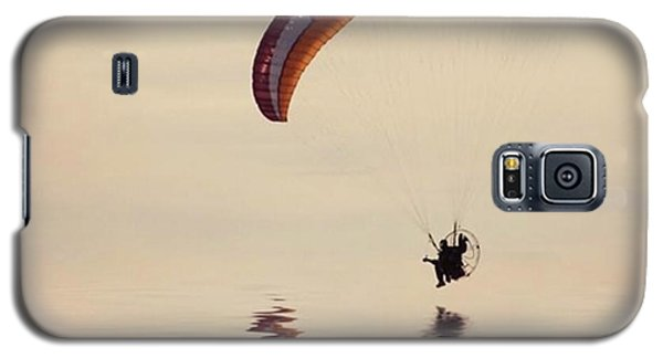 Powered Paraglider Galaxy S5 Case
