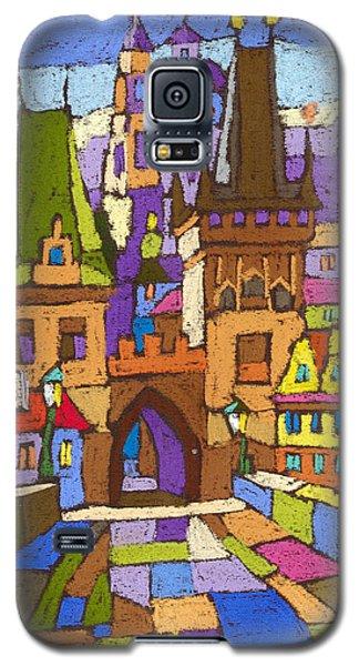 Prague Charles Bridge 01 Galaxy S5 Case by Yuriy  Shevchuk