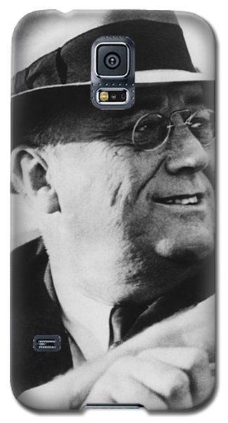 Galaxy S5 Case featuring the photograph President Franklin Roosevelt by War Is Hell Store