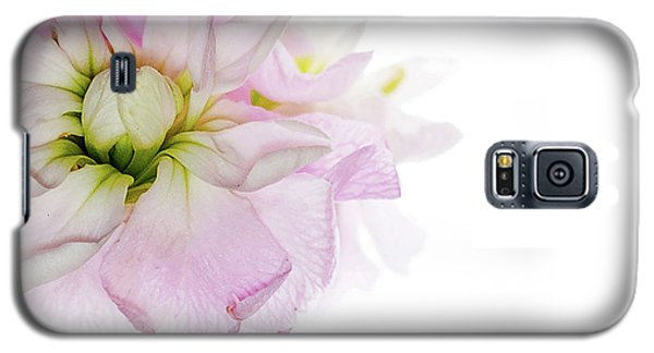 Galaxy S5 Case featuring the photograph Pretty In Pink by Rebecca Cozart
