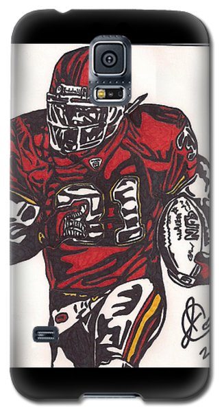 Galaxy S5 Case featuring the drawing Priest Holmes 2 by Jeremiah Colley