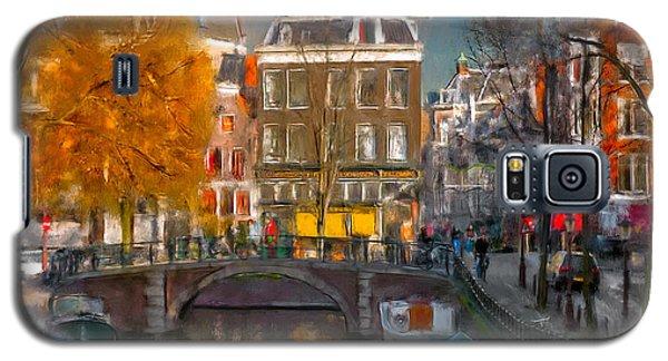 Galaxy S5 Case featuring the photograph Prinsengracht 807. Amsterdam by Juan Carlos Ferro Duque