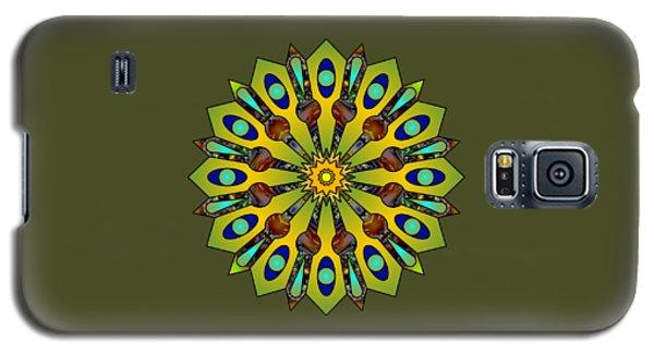 Psychedelic Mandala 004 A Galaxy S5 Case
