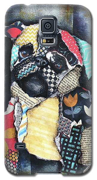 Pug Galaxy S5 Case by Patricia Lintner