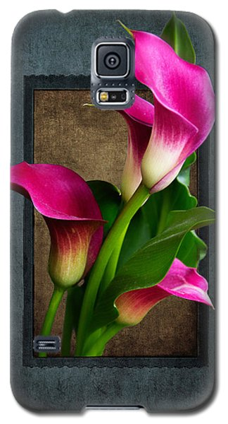 Purple Calla Lily Galaxy S5 Case