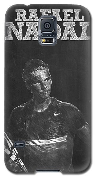 Rafael Nadal Galaxy S5 Case by Semih Yurdabak