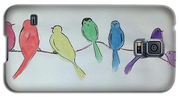 Rainbow Birds Galaxy S5 Case