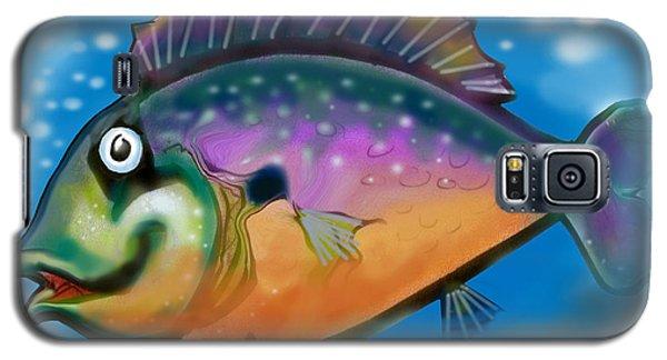 Rainbow Fish Galaxy S5 Case
