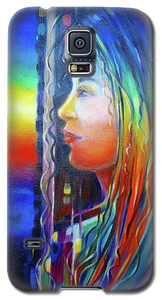 Rainbow Girl 241008 Galaxy S5 Case