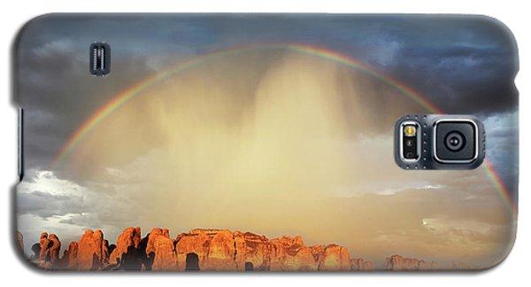 Rainbow Over Garden Of Eden Galaxy S5 Case