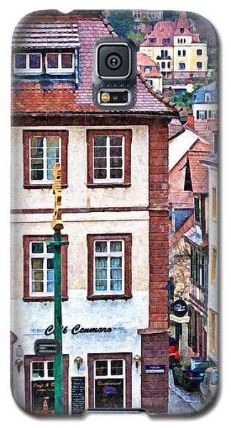 Rainy Day In Heidelberg Galaxy S5 Case