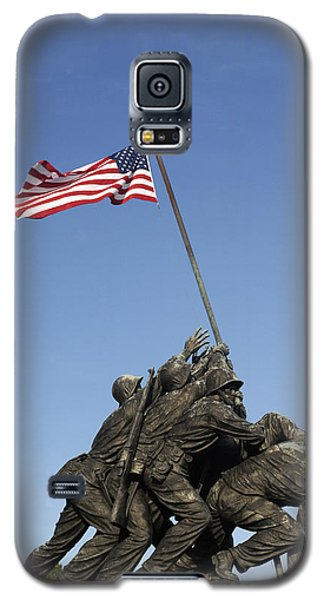 Raising The Flag On Iwo - 799 Galaxy S5 Case