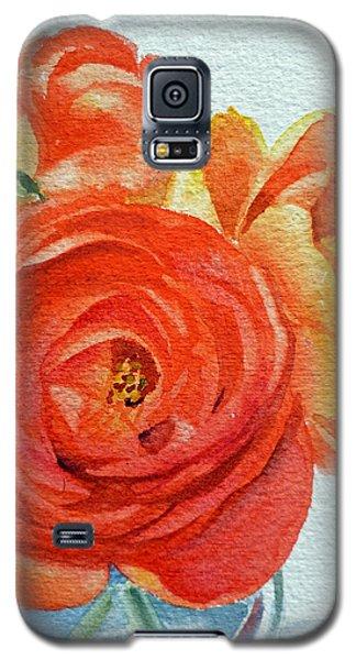 Ranunculus Galaxy S5 Case by Irina Sztukowski