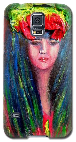 Rasta Girl Galaxy S5 Case