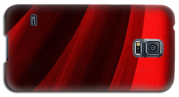 Red Chrysanthemum Dawn Rising Galaxy S5 Case