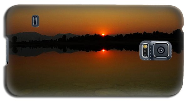 Galaxy S5 Case featuring the photograph Red Dawn by Eric Dee