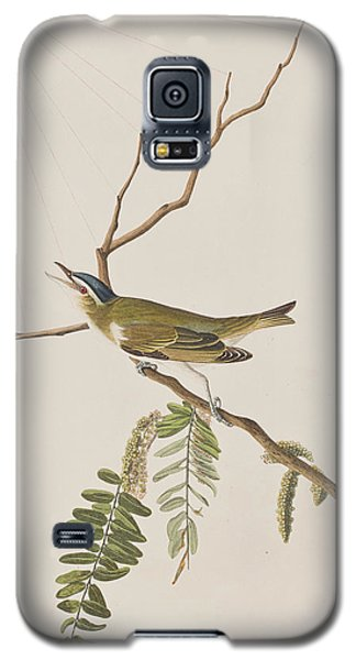 Red Eyed Vireo Galaxy S5 Case by John James Audubon