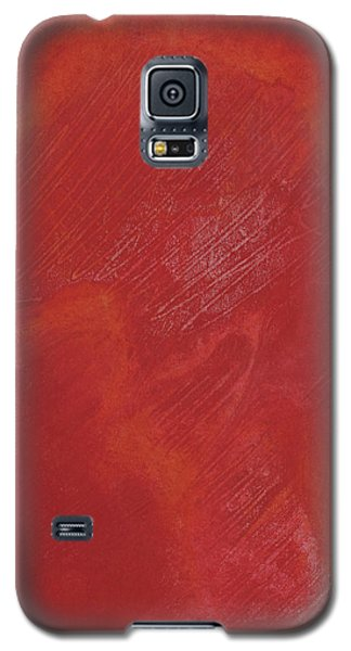 Red Field Galaxy S5 Case