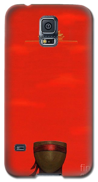 Red Impression Galaxy S5 Case