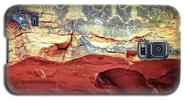 Red Rock Canyon Petroglyphs Galaxy S5 Case