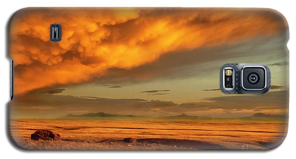 Red Rock Coulee Sunset 1 Galaxy S5 Case