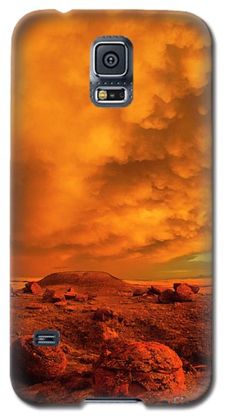 Red Rock Coulee Sunset 2 Galaxy S5 Case