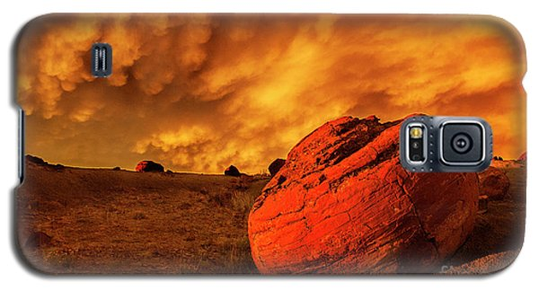 Red Rock Coulee Sunset 3 Galaxy S5 Case