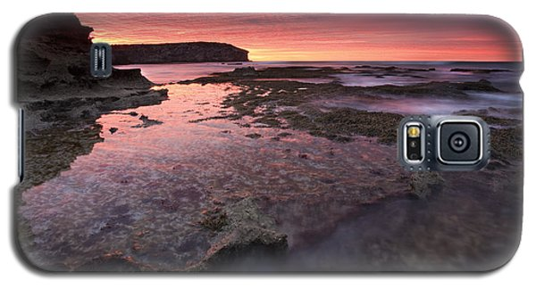 Red Sky At Morning Galaxy S5 Case