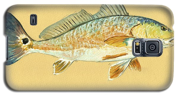 Redfish Painting Galaxy S5 Case by Juan  Bosco