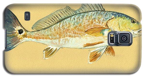 Miami Galaxy S5 Case - Redfish Painting by Juan  Bosco