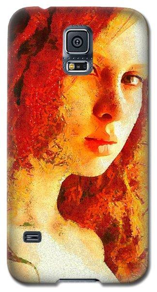 Redhead Galaxy S5 Case by Gun Legler