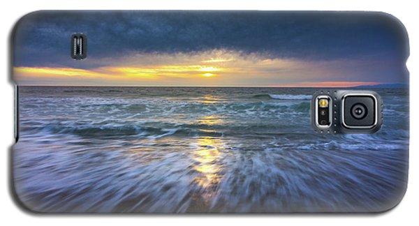 Redondo Beach Sunset Galaxy S5 Case