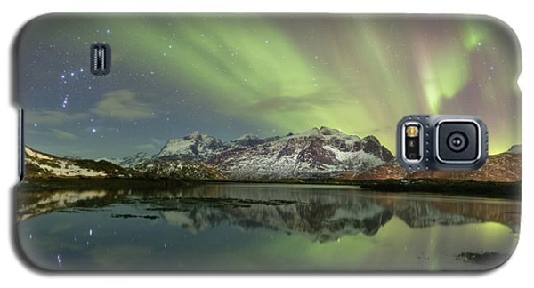 Reflected Lights Galaxy S5 Case