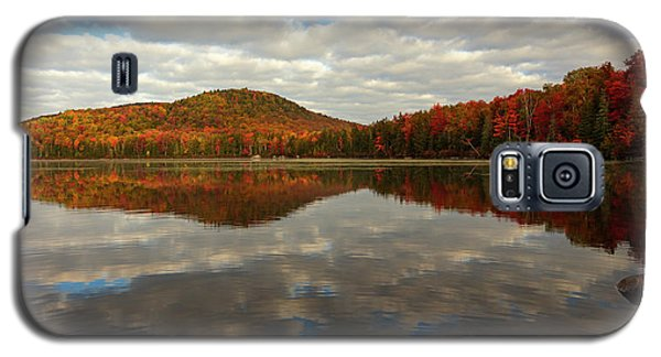 Galaxy S5 Case featuring the photograph Autumn Reflections by Mike Lang