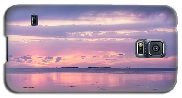 Reflections At Sunset In Key Largo Galaxy S5 Case