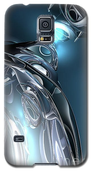Reflections Of Blue Galaxy S5 Case